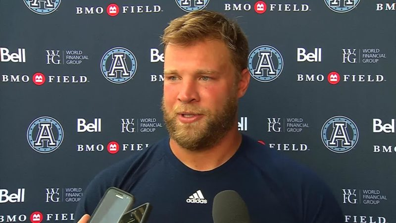 Argonauts Practice :Chris Van Zeyl – July 3, 2018