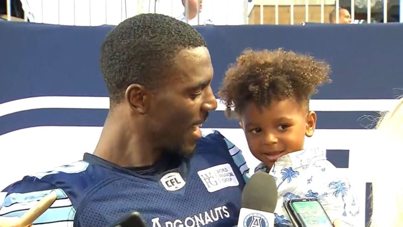 Argonauts Post-Game: James Wilder Jr. – July 7, 2018