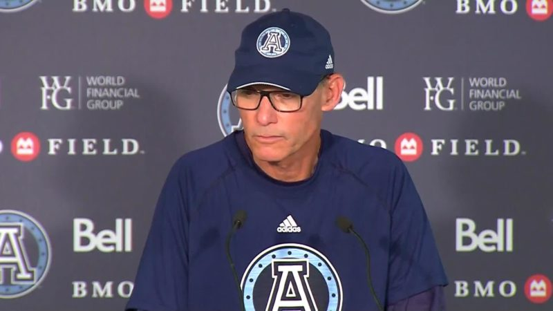 Argonauts Post-Game: Marc Trestman – July 7, 2018