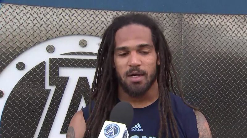 Argonauts Practice: Marcus Ball – July 11, 2018