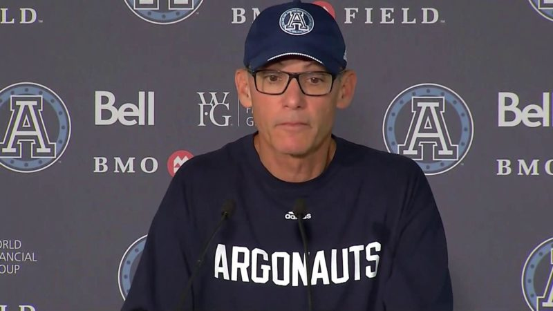 Argonauts Post-Game: Marc Trestman – July 21, 2018
