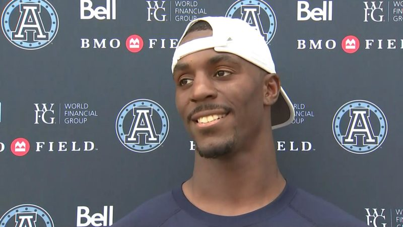 Argonauts Practice: James Wilder Jr. – July 24, 2018