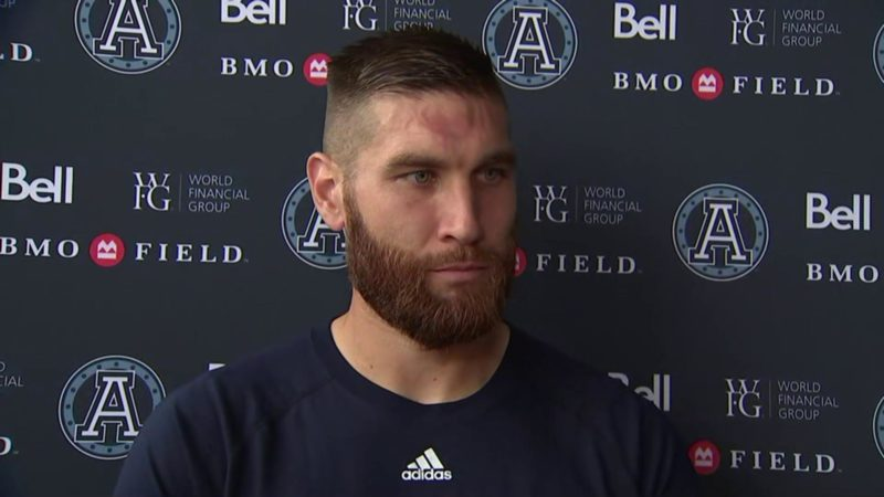 Argonauts Practice: McLeod Bethel-Thompson – August 30, 2018