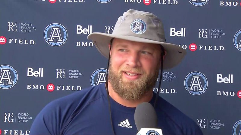 Argonauts Practice: Chris Van Zeyl – September 2, 2018
