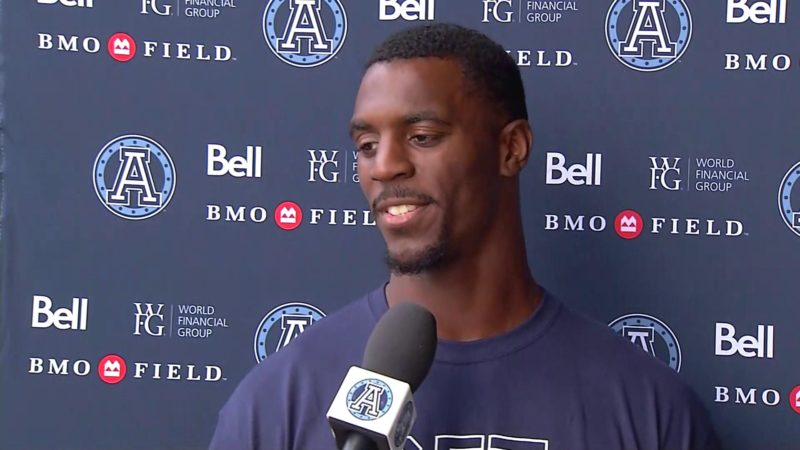 Argonauts Practice: James Wilder Jr. – September 2, 2018