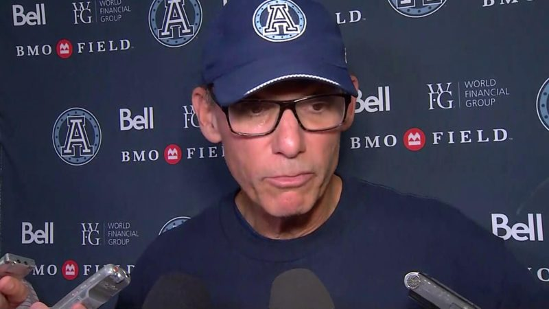 Argonauts Post-Game: Marc Trestman – September 3, 2018