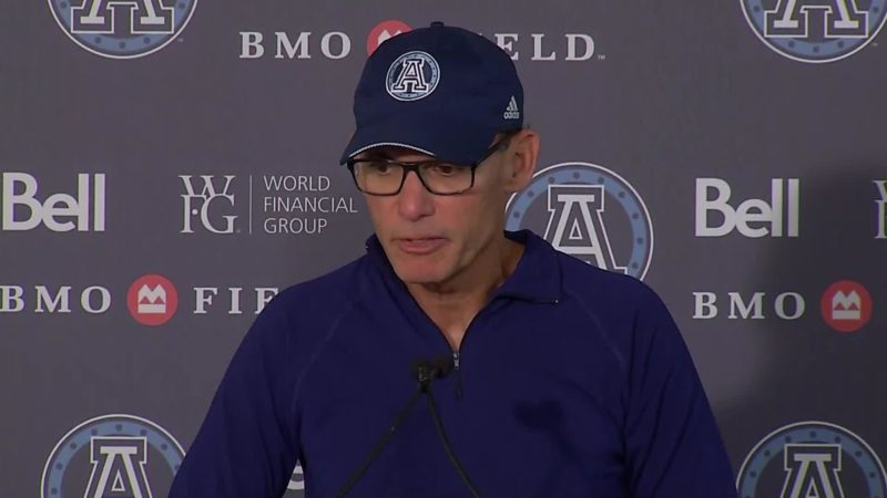 Argonauts Post-Game: Marc Trestman – September 22, 2018