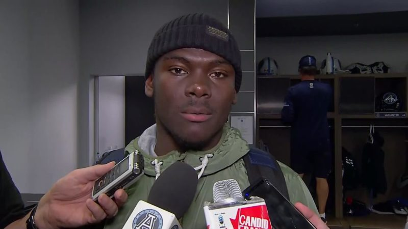 Argonauts Post-Game: Trumaine Washington – September 22, 2018
