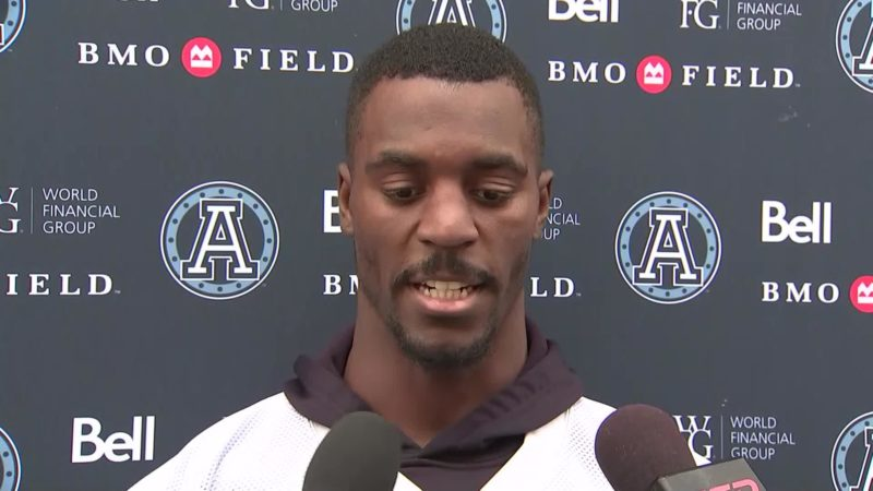 Argonauts Practice: James Wilder Jr. – September 25, 2018