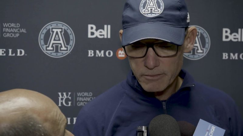Argonauts Post-Game: Marc Trestman – September 28, 2018