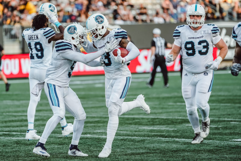 Hogan  Darby Channeling his Inner Dr. Seuss - Toronto Argonauts 50a06be0c373