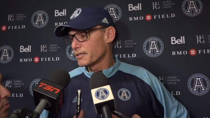 Argonauts Post-Game: Marc Trestman – October 6, 2018