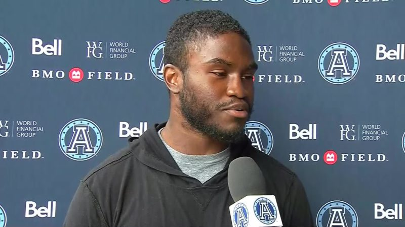 Argonauts Practice: Armanti Edwards – October 11, 2018