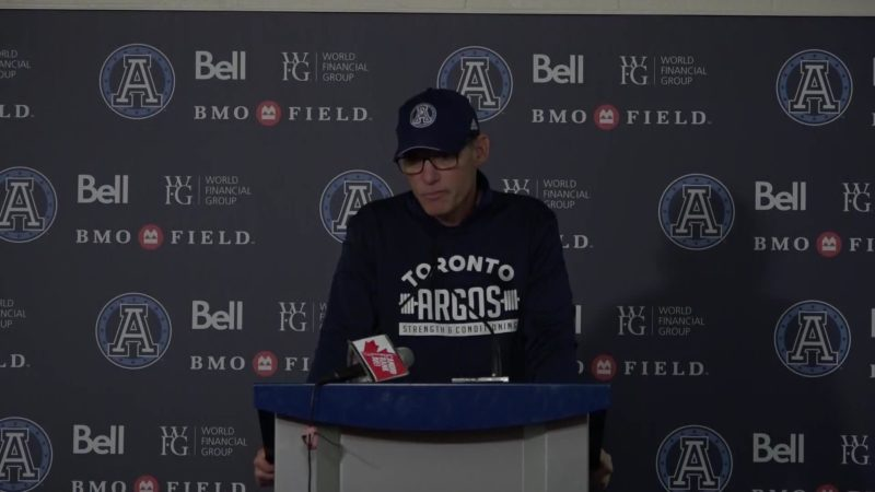 Argonauts Post-Game: Marc Trestman – October 20, 2018