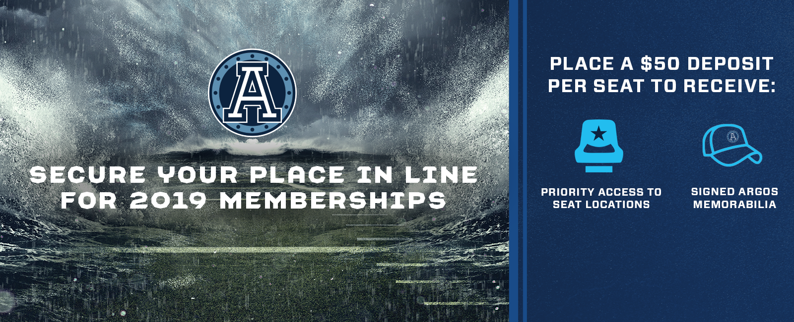 Argos 2019 Membership Deposits
