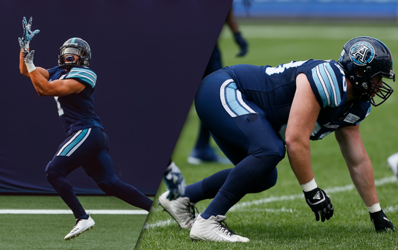 Argos Re-sign WR Anthony Coombs and DL Linden Gaydosh