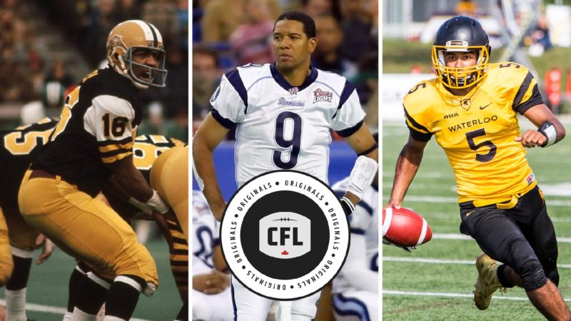 Three Generations: The evolution of black QBs in Canada