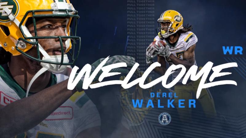Welcome Derel Walker