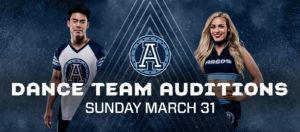 2019 Dance Team Auditions