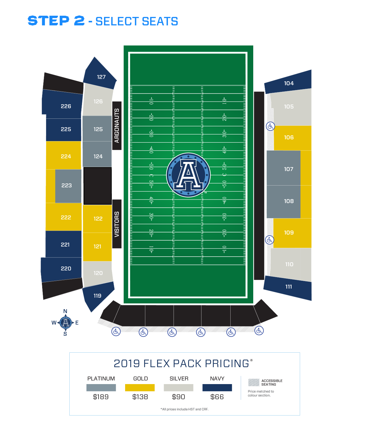 Argos Seating Chart