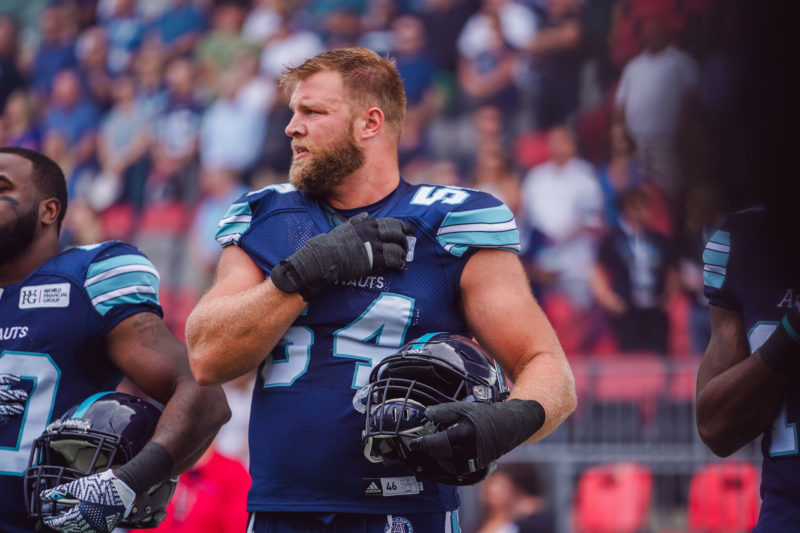 Argos announce OL Chris Van Zeyl has been released