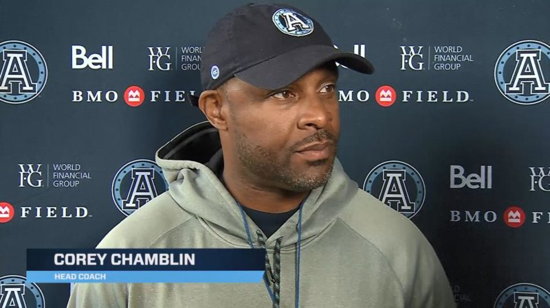 Practice Sound: Corey Chamblin – October 3, 2019