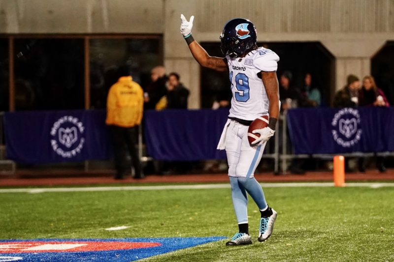 Recap - Argos fall in back and forth affair in Montreal
