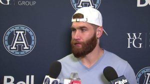 Argos Locker Cleanout: McLeod Bethel-Thompson – November 3, 2019