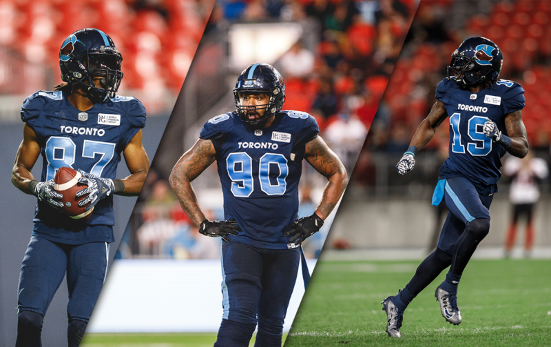 Three Argos named East Division All-Stars
