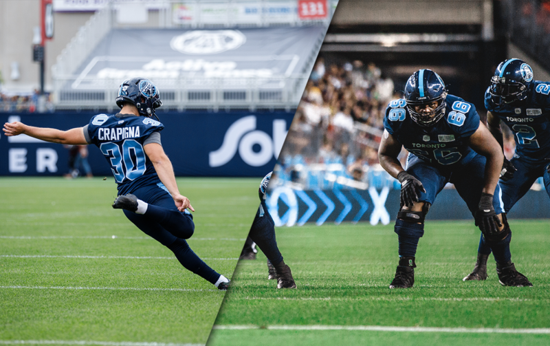 Argos sign Crapigna and Cage to extensions