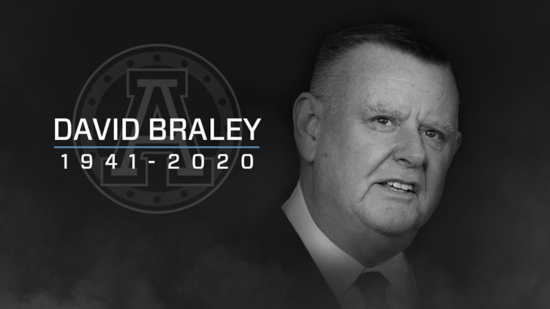 Argos mourn the passing of former owner and Canadian Football Hall of Famer David Braley