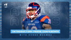 Press Conference: Henoc Muamba – March 18, 2021
