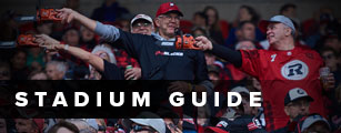 Image of fans with a link to Stadium Guide