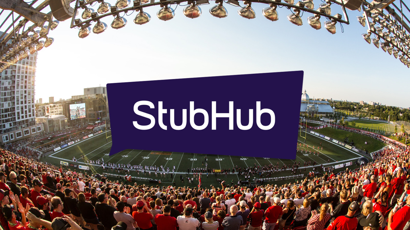 StubHub Becomes Official Ticket Partner at TD Place - Ottawa REDBLACKS