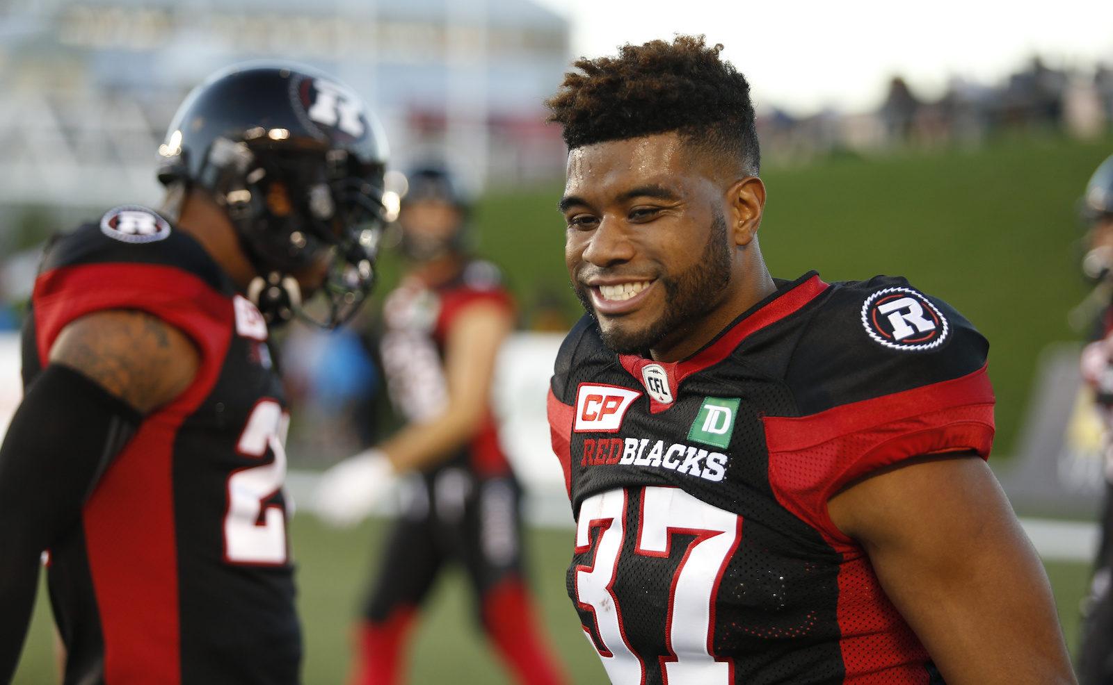 Mossis Madu re-signs with REDBLACKS - Ottawa REDBLACKS