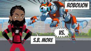 RForce   S.B. More versus Robolion