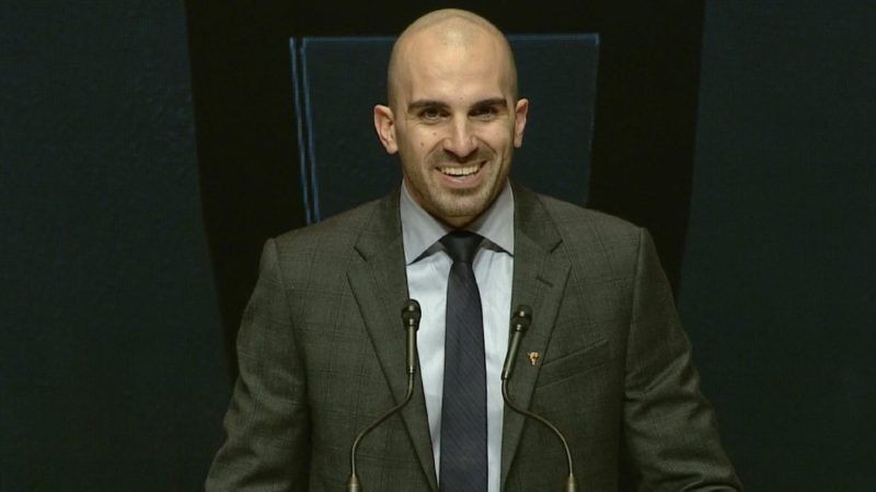 Shaw CFL Awards: Brad Sinopoli wins Most Outstanding Canadian