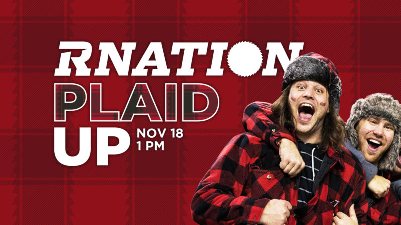 Plaid Up for the playoffs!