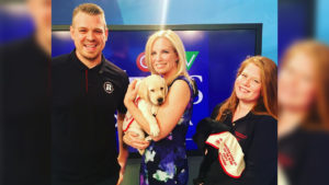 REDBLACKS and CGDB puppies make CTV News appearance