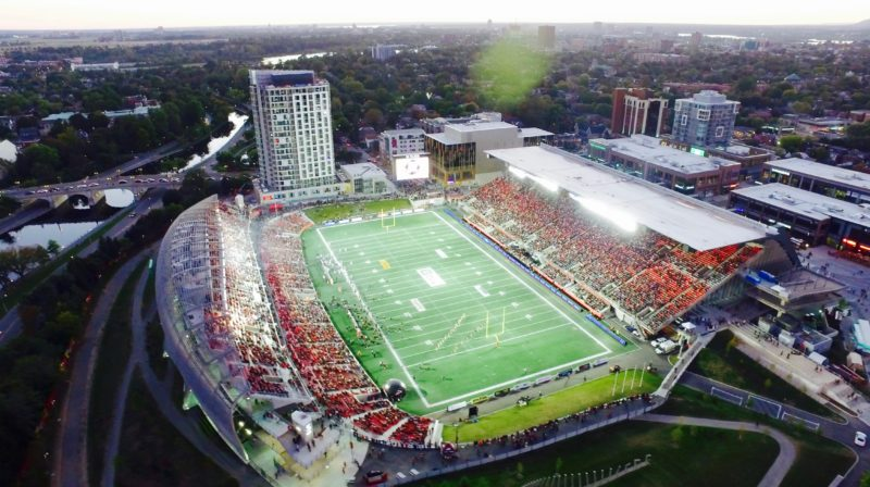 TD Place says goodbye to plastic straws