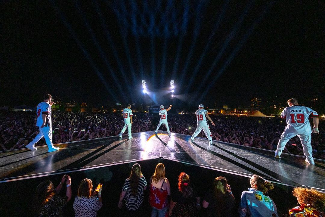Backstreet Boys Wear Ottawa REDBLACKS Jerseys - Ottawa REDBLACKS