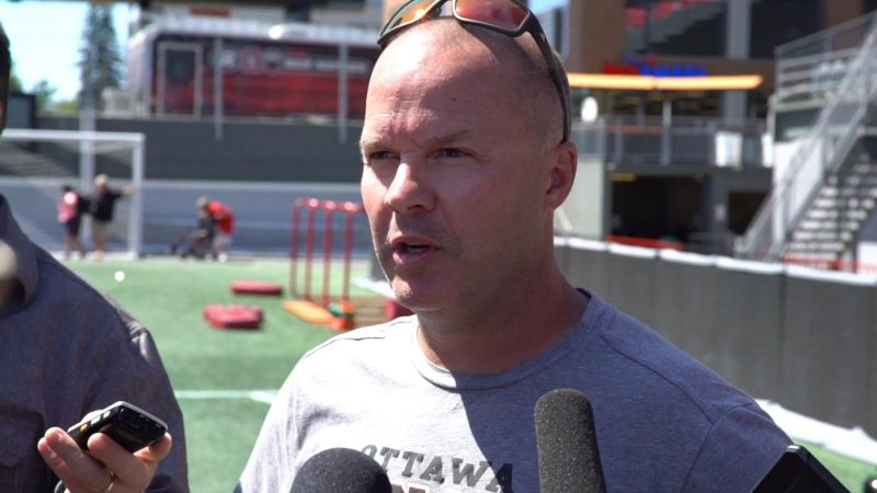 Campbell: We're going to shuffle the offensive staff a bit