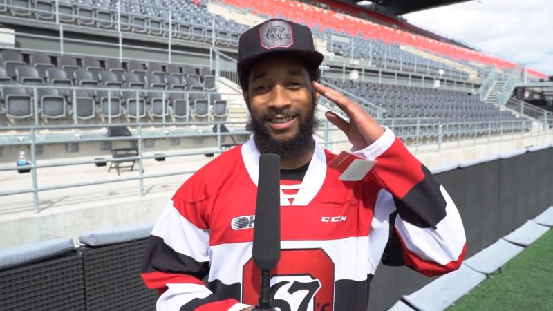 Sherrod Baltimore talks about how fun 67's games are!