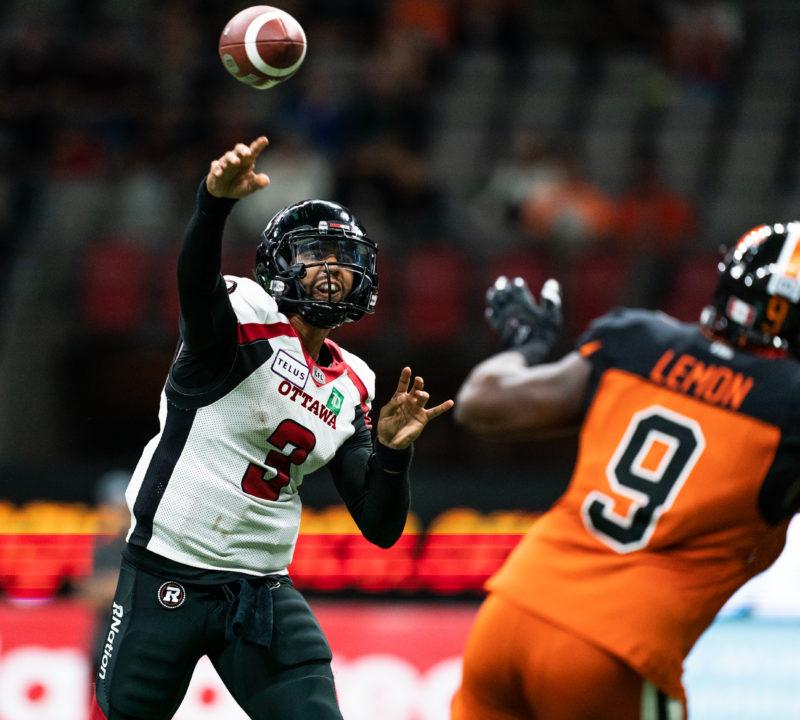 REDBLACKS look to avenge loss to Lions on Saturday - Ottawa REDBLACKS