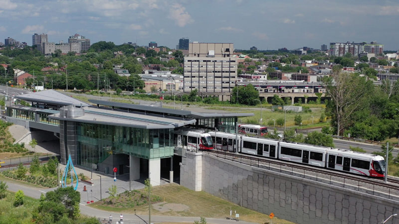 Your gameday ticket gets you a free ride on the LRT