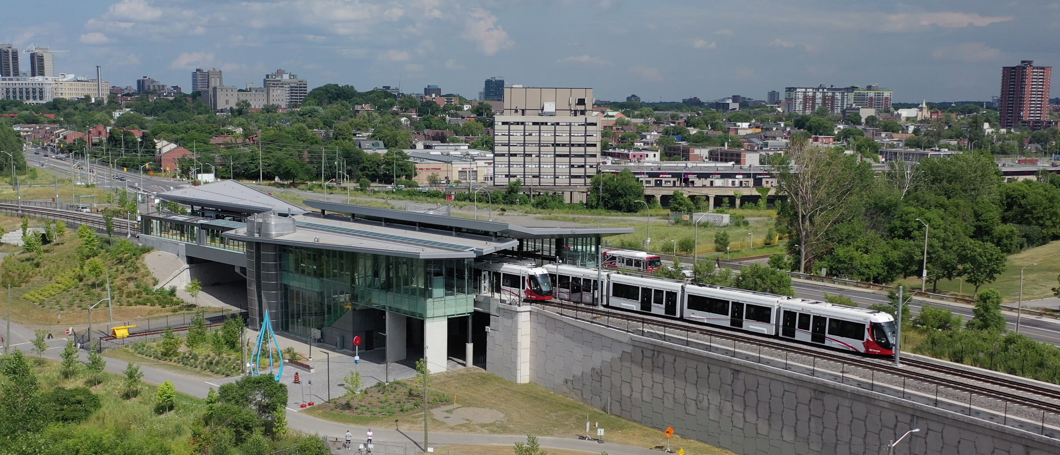 Your gameday ticket gets you a free ride on the LRT - Ottawa REDBLACKS