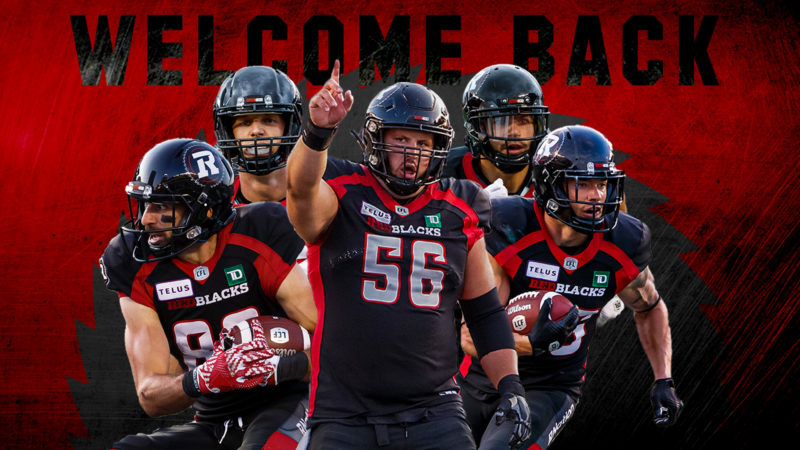 REDBLACKS re-sign five Canadians for next two seasons