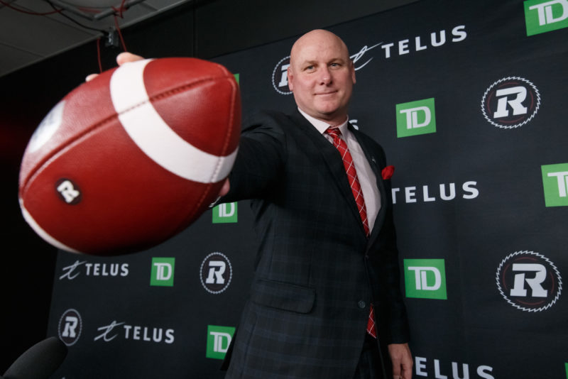 Paul LaPolice Brings Fast, Physical and Fun to RNation - Ottawa REDBLACKS
