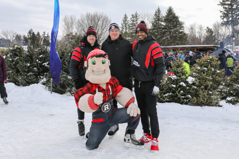 Gillanders and Davis skate on Canal with RNation