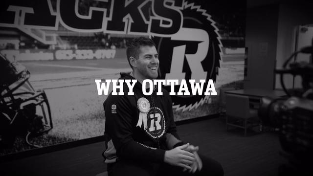 Why Nick Arbuckle chose Ottawa